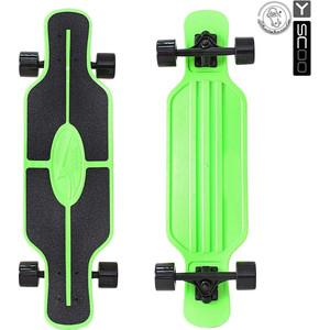 Скейтборд RT 408-G Longboard Shark TIR 31'' пластик 79х22 с сумкой GREEN/black стоимостью 3239 рублей